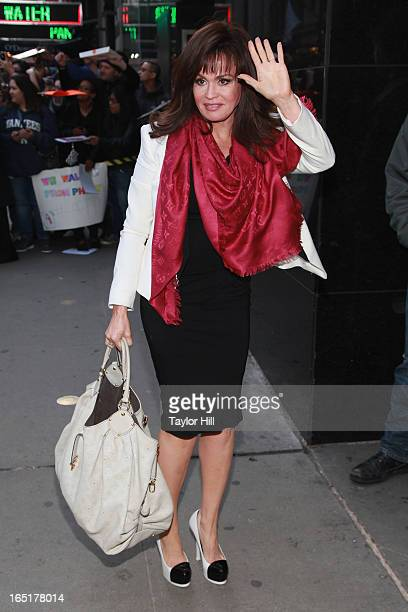 Singer Marie Osmond visits the set of 'Good Morning America' at GMA Studios on April 1 2013 in New York City