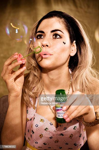 Singer Marina and The Diamonds is photographed for Paper Magazine on April 19 2012 in London England