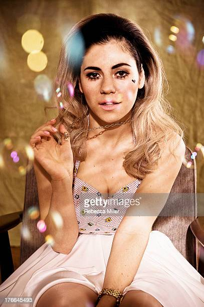 Singer Marina and The Diamonds is photographed for Paper Magazine on April 19 2012 in London England PUBLISHED IMAGE