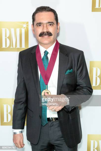 Singer Mario Quintero Lara attends the 24th Annual BMI Latin Awards at the Beverly Wilshire Four Seasons Hotel on March 21 2017 in Beverly Hills...