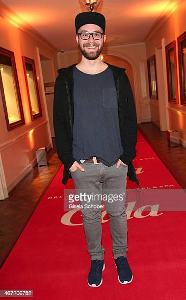 Singer Mark Forster during the Gala Spa Awards 2015 at Brenners ParkHotel Spa on March 21 2015 in BadenBaden Germany