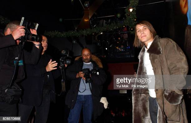 Singer Mark Owen caught on camera by celebrity photographers Dave Hogan Dave Bennett and Richard Young at he aftershow party in Leicester Square...