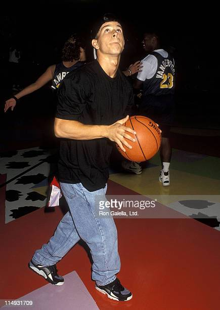 Singer Mark Wahlberg attends MTV's Second Annual Rock N' Jock BBall Jam on September 20 1992 at the Pauley Pavilion UCLA in Westwood California
