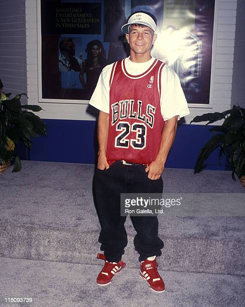Singer Mark Wahlberg attends the 12th Annual Video Software Dealers Association Convention and Expo on July 11 1993 at Las Vegas Convention Center in...