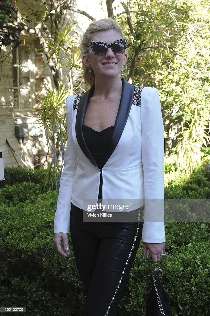 Singer Marla G attends Posing Heroes, 'A Dog Day Afternoon' Benefiting A Wish For Animals - Inside on March 30, 2013 in Los Angeles, California.