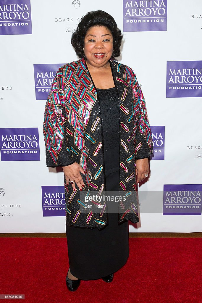 Singer Martina Arroyo attends Martina Arroyo Annual Foundation Gala at 583 Park Avenue on November 27, 2012 in New York City.