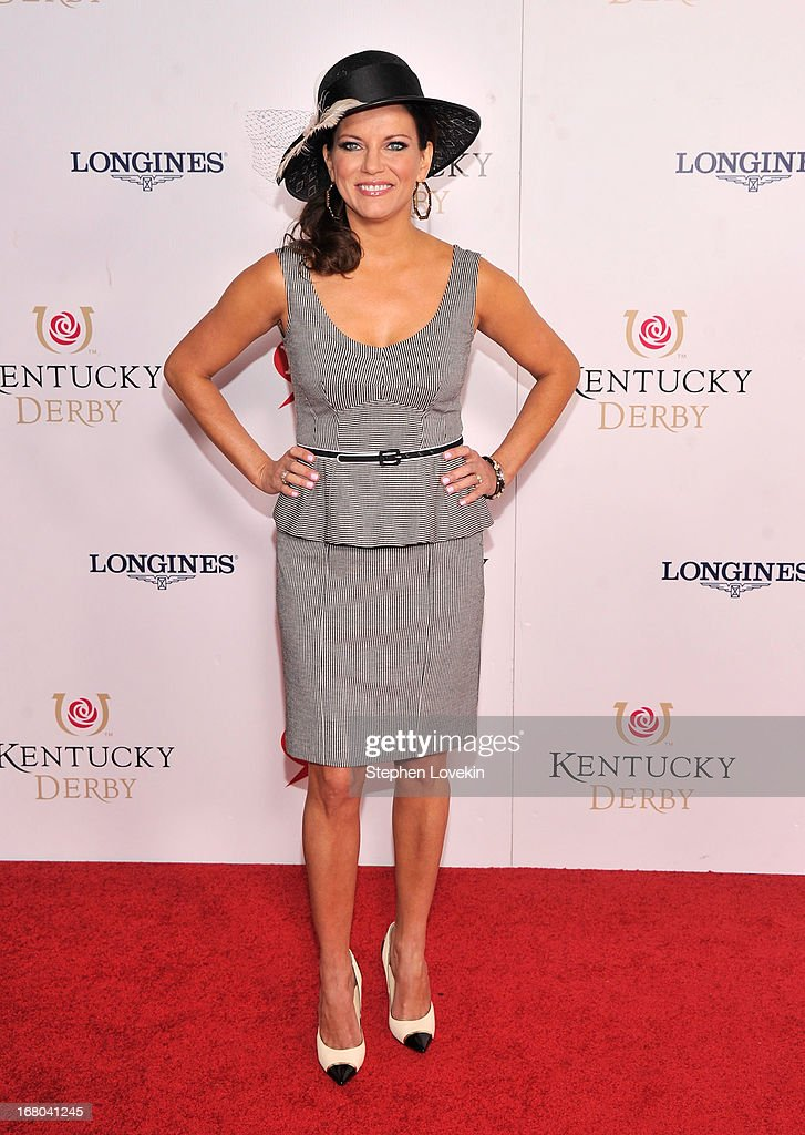 Singer Martina McBride attends the 139th Kentucky Derby at Churchill Downs on May 4 2013 in Louisville Kentucky