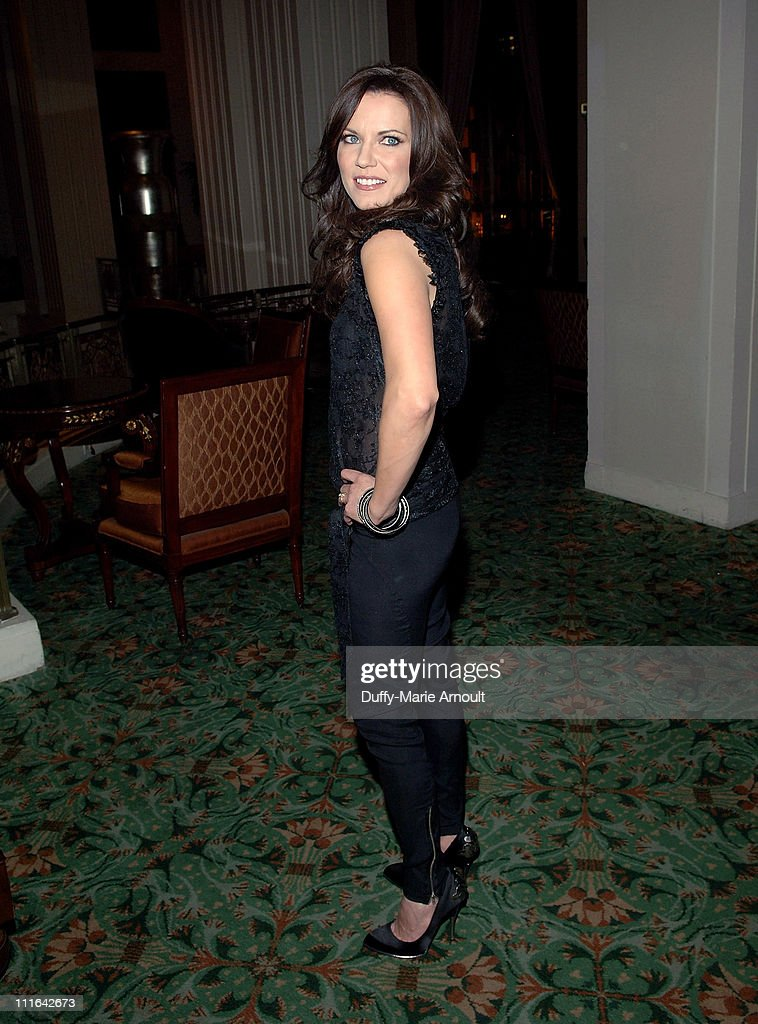 Singer Martina McBride attends the 2009 Broadcasters Foundation of America Golden Mike benefit gala at the Waldorf=Astoria on February 23 2009 in New...
