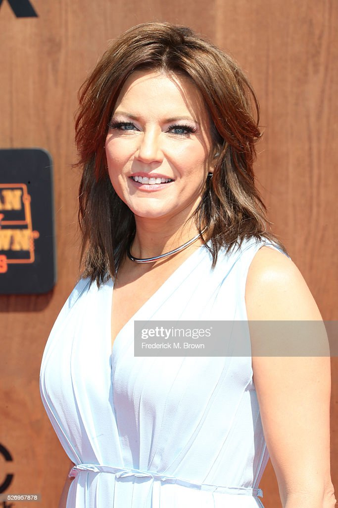 Singer Martina McBride attends the 2016 American Country Countdown Awards at The Forum on May 1, 2016 in Inglewood, California.