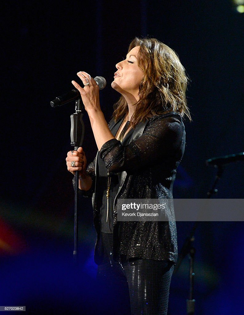 Singer <a gi-track='captionPersonalityLinkClicked' href=/galleries/search?phrase=Martina+McBride&family=editorial&specificpeople=204772 ng-click='$event.stopPropagation()'>Martina McBride</a> peforms onstage during the 2016 American Country Countdown Awards at The Forum on May 1, 2016 in Inglewood, California.