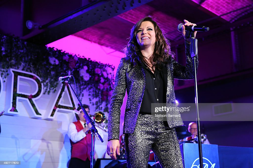 Singer Martina McBride performs during Pandora Presents Women In Country at The Altman Building on October 14 2015 in New York City