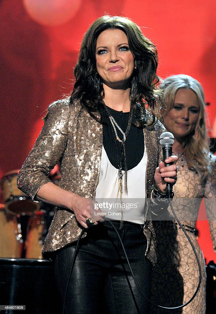 Singer Martina McBride performs onstage at 2014 MusiCares Person Of The Year Honoring Carole King at Los Angeles Convention Center on January 24 2014...