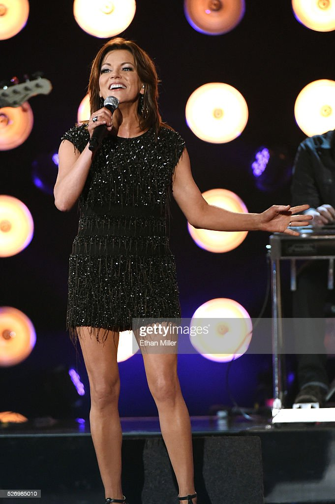 Singer Martina McBride performs onstage during the 2016 American Country Countdown Awards at The Forum on May 1, 2016 in Inglewood, California.