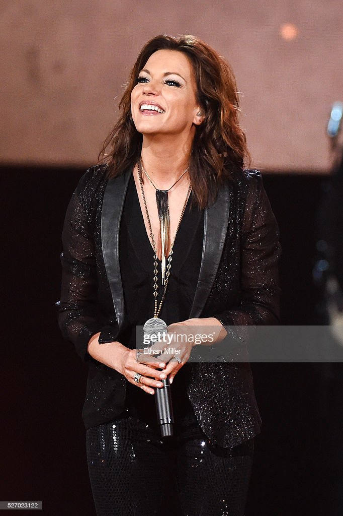 Singer <a gi-track='captionPersonalityLinkClicked' href=/galleries/search?phrase=Martina+McBride&family=editorial&specificpeople=204772 ng-click='$event.stopPropagation()'>Martina McBride</a> performs onstage during the 2016 American Country Countdown Awards at The Forum on May 1, 2016 in Inglewood, California.