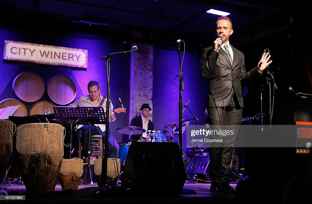 Singer Marty Thomas performs during the 4th Annual African Children's Choir Fundraising Gala at City Winery on December 3, 2012 in New York City.