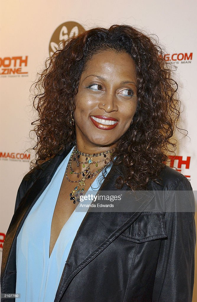 Singer Marva King arrives at the Smooth Pre-BET party at Club A.D. on June 23, 2003 in Los Angeles, California.