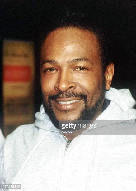 Singer Marvin Gaye circa 1980
