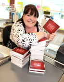 Singer Mary Byrne visits her old workplace Tesco Walkden to launch her new CD single on March 28 2011 in Manchester England