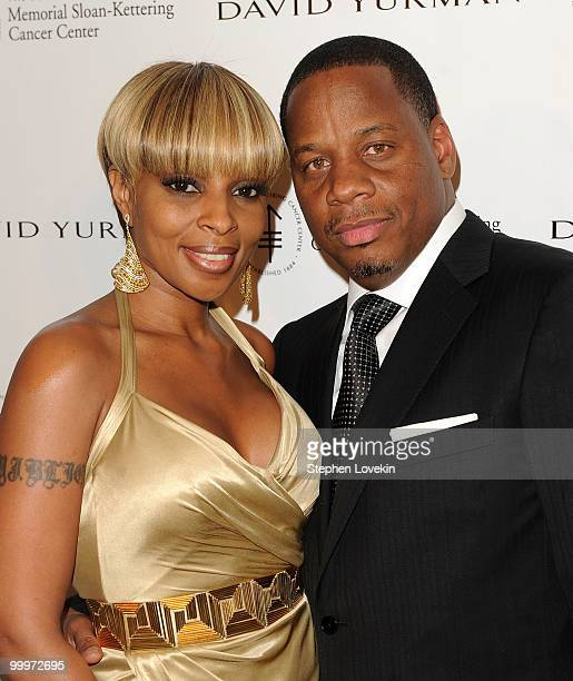 Singer Mary J Blige and husband Kendu Isaacs attend the 3rd Annual Society Of Memorial SloanKettering Cancer Center's Spring Ball at The Pierre Hotel...