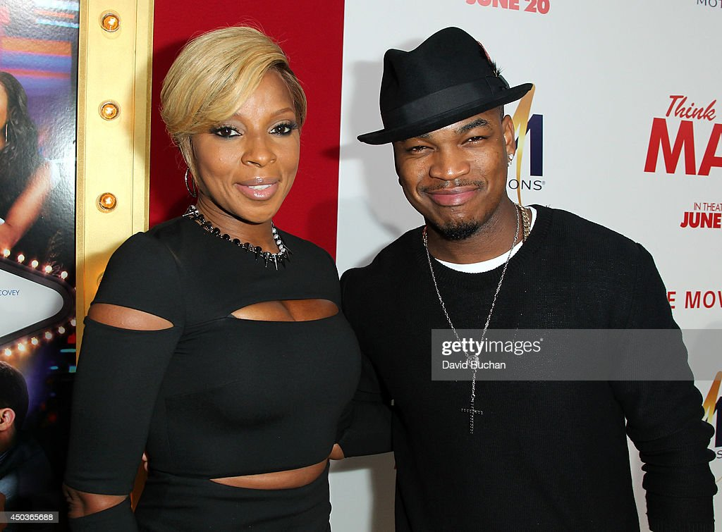 Singer <a gi-track='captionPersonalityLinkClicked' href=/galleries/search?phrase=Mary+J.+Blige&family=editorial&specificpeople=171124 ng-click='$event.stopPropagation()'>Mary J. Blige</a> and <a gi-track='captionPersonalityLinkClicked' href=/galleries/search?phrase=Ne-Yo&family=editorial&specificpeople=451543 ng-click='$event.stopPropagation()'>Ne-Yo</a> attend the Premiere Of Screen Gems' 'Think Like A Man Too' at TCL Chinese Theatre on June 9, 2014 in Hollywood, California.
