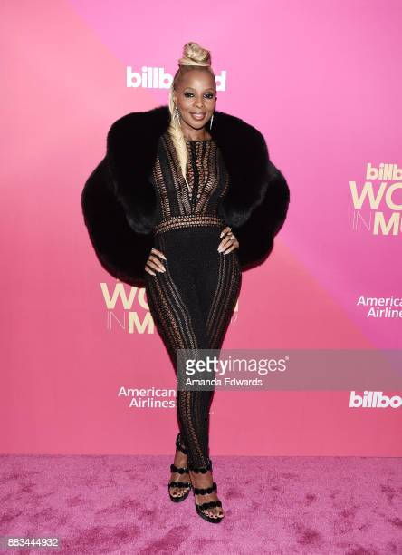 Singer Mary J Blige arrives at Billboard Women In Music 2017 at The Ray Dolby Ballroom at Hollywood Highland Center on November 30 2017 in Hollywood...