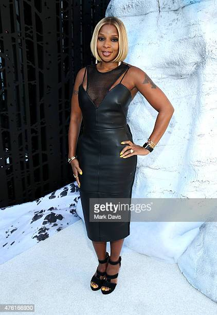 Singer Mary J Blige attends Spike TV's Guys Choice 2015 at Sony Pictures Studios on June 6 2015 in Culver City California