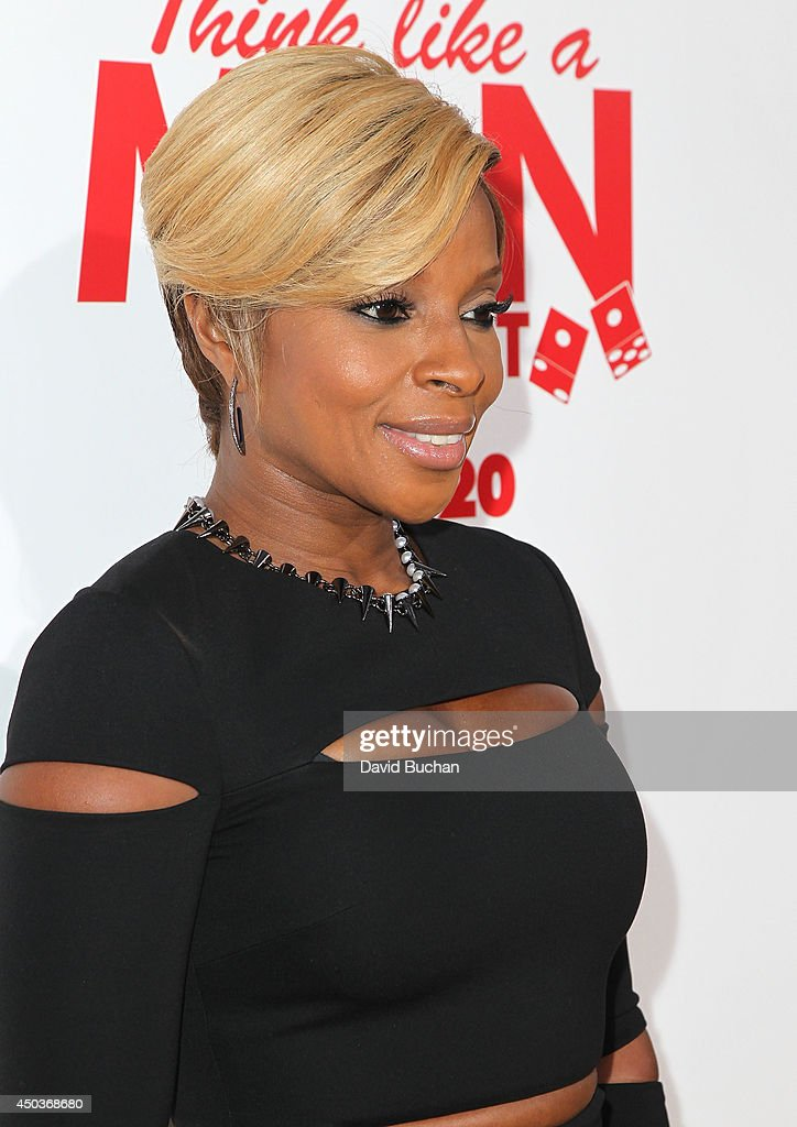 Singer <a gi-track='captionPersonalityLinkClicked' href=/galleries/search?phrase=Mary+J.+Blige&family=editorial&specificpeople=171124 ng-click='$event.stopPropagation()'>Mary J. Blige</a> attends the Premiere Of Screen Gems' 'Think Like A Man Too' at TCL Chinese Theatre on June 9, 2014 in Hollywood, California.