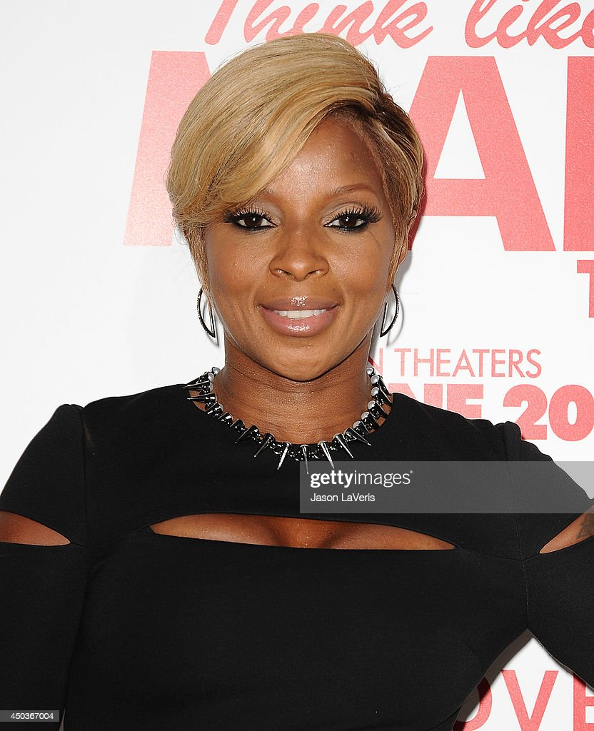Singer <a gi-track='captionPersonalityLinkClicked' href=/galleries/search?phrase=Mary+J.+Blige&family=editorial&specificpeople=171124 ng-click='$event.stopPropagation()'>Mary J. Blige</a> attends the premiere of 'Think Like A Man Too' at TCL Chinese Theatre on June 9, 2014 in Hollywood, California.
