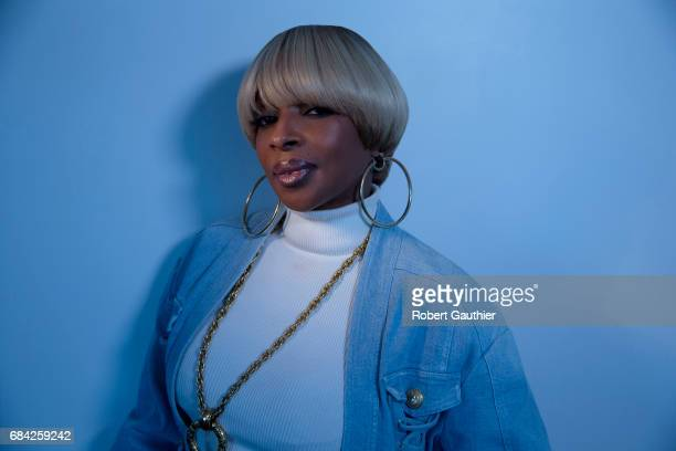 B Singer Mary J Blige is photographed for Los Angeles Times on April 25 2017 in Hollywood California CREDIT MUST READ Robert Gauthier/Los Angeles...