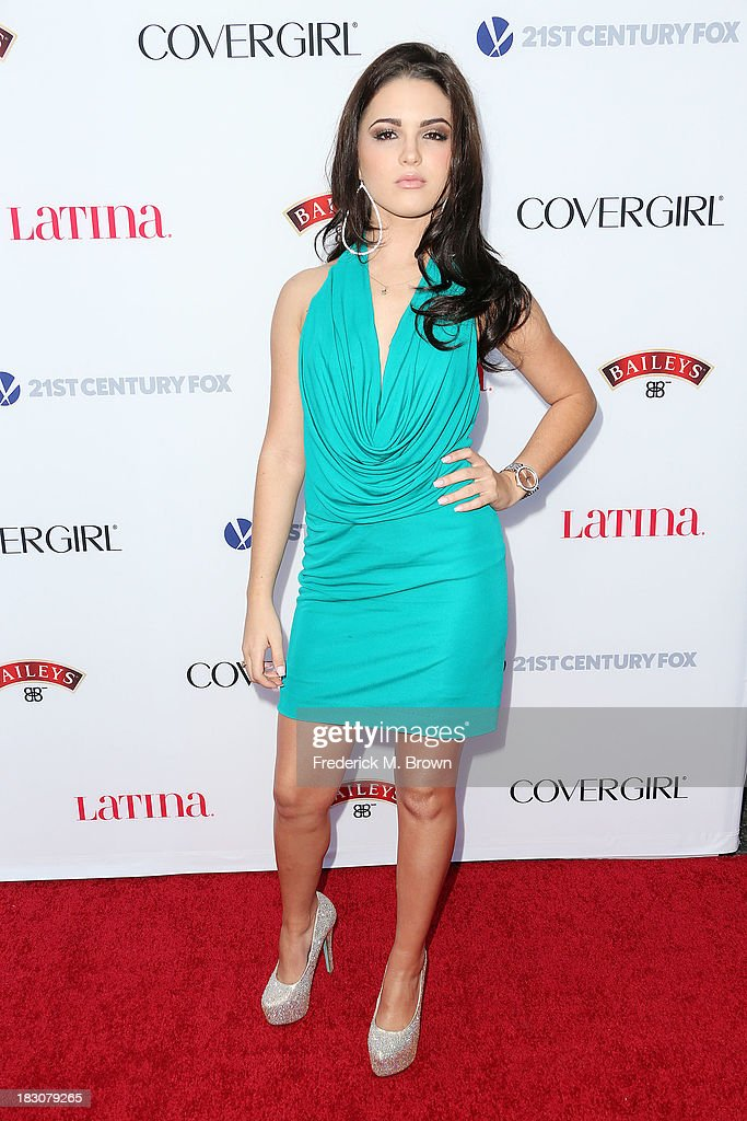 Singer Mary Miranda attends Latina Magazine's 'Hollywood Hot List' Party at The Redbury Hotel on October 3, 2013 in Hollywood, California.