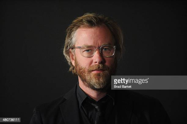 Singer Matt Berninger of The National attends the 'Mistaken For Strangers' screening at Sunshine Landmark on March 26 2014 in New York City