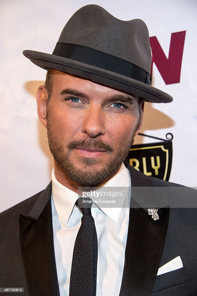 Singer Matt Goss arrives at The Beverly Hills Chamber Of Commerce's