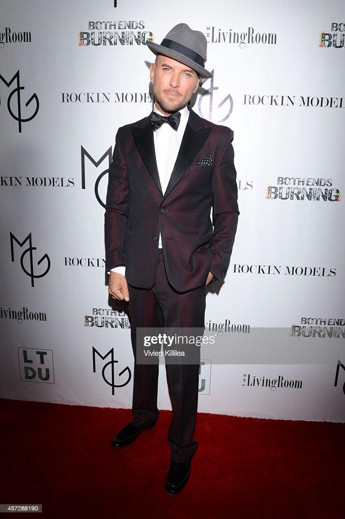 Singer Matt Goss attends A Night With Matt Goss at W Hollywood on October 15 2014 in Hollywood California