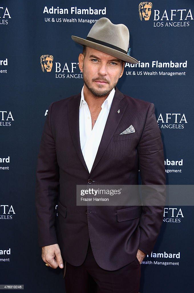 Singer Matt Goss attends BAFTA LA Garden Party at the British ConsulGeneral's residence in Hancock Park on June 7 2015 in Los Angeles California