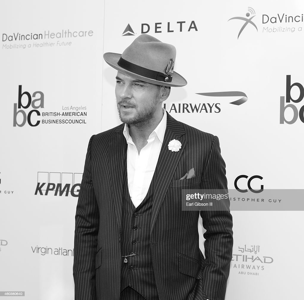 Singer Matt Goss attends the British American Business Council 55th Annual Christmas Luncheon in Los Angeles at Fairmont Miramar Hotel on December 12...