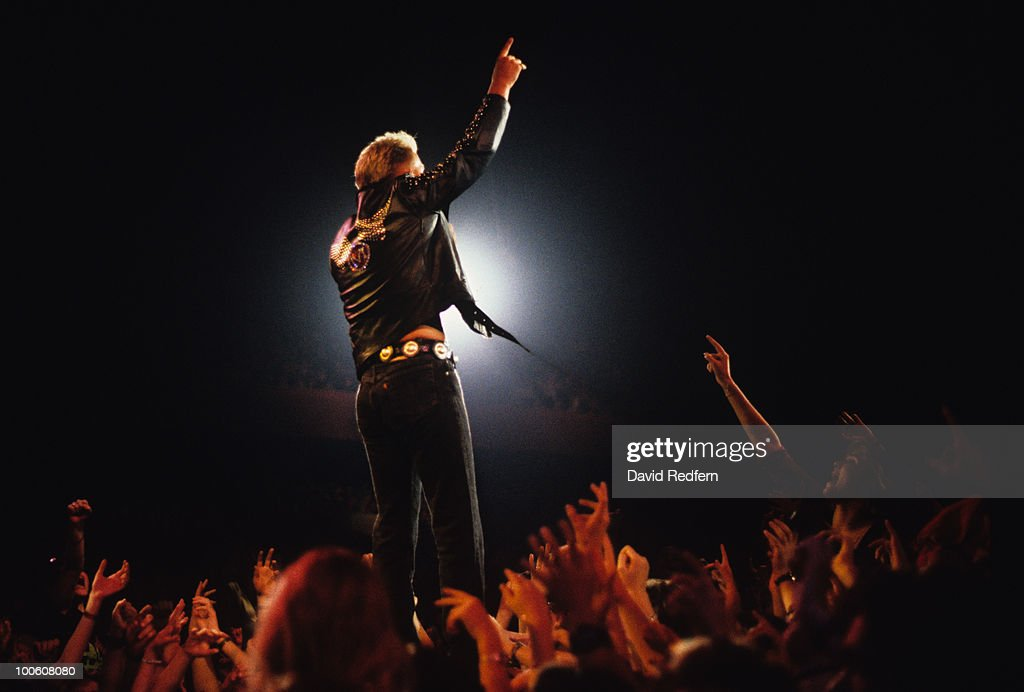 Singer Matt Goss of Bros performs on stage in 1989