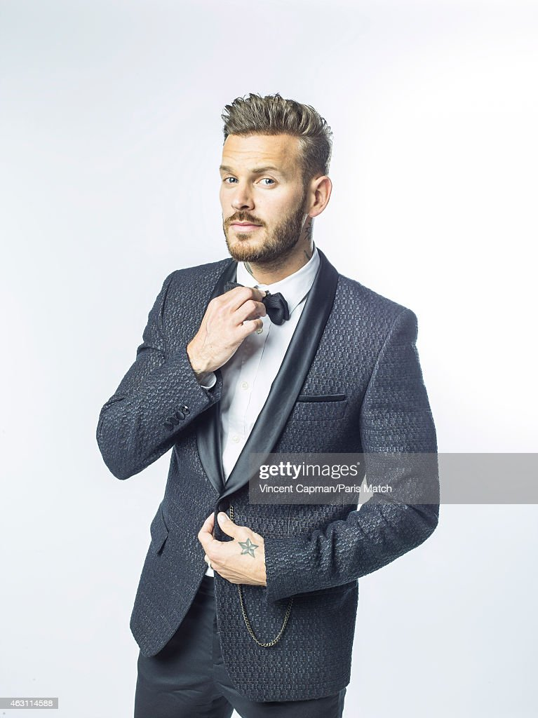 Singer <a gi-track='captionPersonalityLinkClicked' href=/galleries/search?phrase=Matt+Pokora&family=editorial&specificpeople=815249 ng-click='$event.stopPropagation()'>Matt Pokora</a> is photographed for Paris Match on January 9, 2015 in Paris, France.