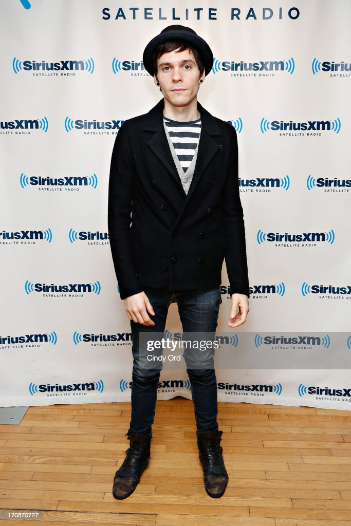 Singer <a gi-track='captionPersonalityLinkClicked' href=/galleries/search?phrase=Matthew+Koma&family=editorial&specificpeople=8734517 ng-click='$event.stopPropagation()'>Matthew Koma</a> visits the SiriusXM Studios on June 14, 2013 in New York City.
