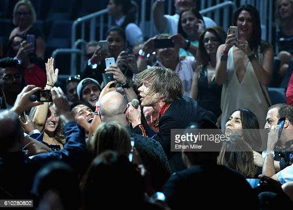Recording artist Matt Shultz of music group Cage the Elephant performs at the 2016 iHeartRadio Music Festival at TMobile Arena on September 24 2016...
