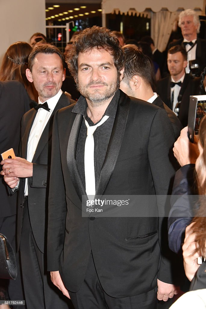 Singer Matthieu Chedid attends 'The Nice Guys' premiere during the 69th annual Cannes Film Festival at the Palais des Festivals on May 15, 2016 in Cannes, France.