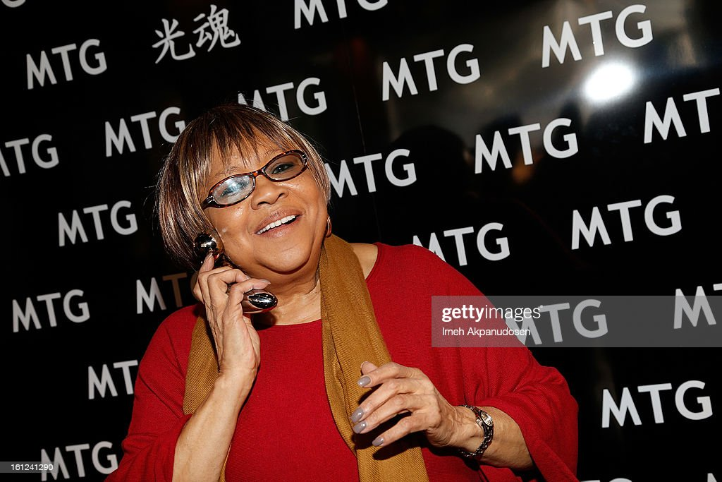 Singer Mavis Staples attends the GRAMMY Gift Lounge during the 55th Annual GRAMMY Awards at STAPLES Center on February 9, 2013 in Los Angeles, California.