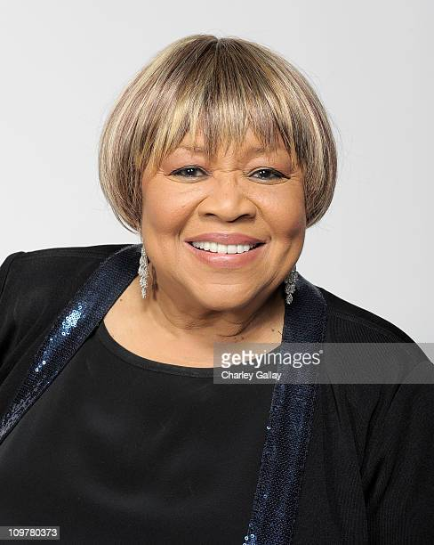 Singer Mavis Staples poses for a portrait at the 42nd NAACP Image Awards held at The Shrine Auditorium on March 4 2011 in Los Angeles California