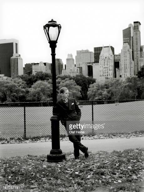 Singer Max Raabe is photographed on March 11 2007 in New York City