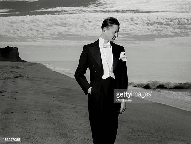 Singer Max Raabe is photographed on November 13 2007 in Berlin Germany