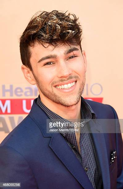 Singer Max Schneider aka MAX attends the 2015 iHeartRadio Music Awards which broadcasted live on NBC from The Shrine Auditorium on March 29 2015 in...