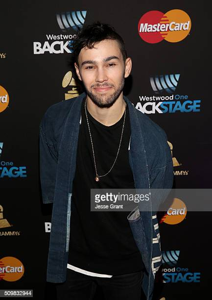 Singer Max Schneider attends the Westwood One Radio Remotes during The 58th GRAMMY Awards at Staples Center on February 12 2016 in Los Angeles...
