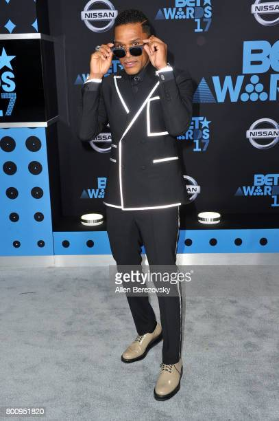 Singer Maxwell arrives at the 2017 BET Awards at Microsoft Theater on June 25 2017 in Los Angeles California