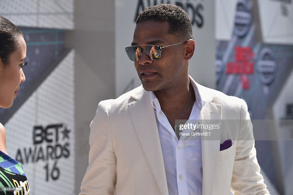 Singer Maxwell attends the 2016 BET Awards at the Microsoft Theater on June 26, 2016 in Los Angeles, California.