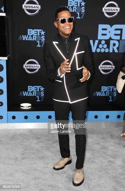 Singer Maxwell attends the 2017 BET Awards at Microsoft Theater on June 25 2017 in Los Angeles California