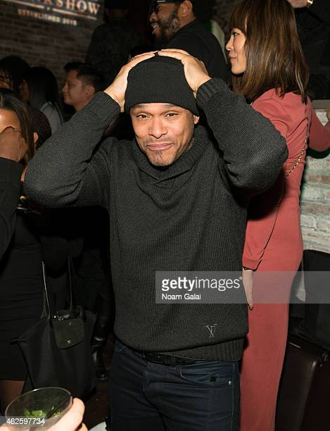 Singer Maxwell attends the Tanqueray Trunk Show launch event at TAO Downtown Lounge on January 31 2015 in New York City